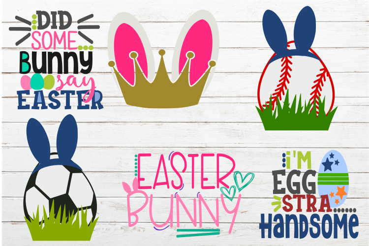 Easter bundle svg,Easter svgs,Easter svg,Easter bunny svg example image 2