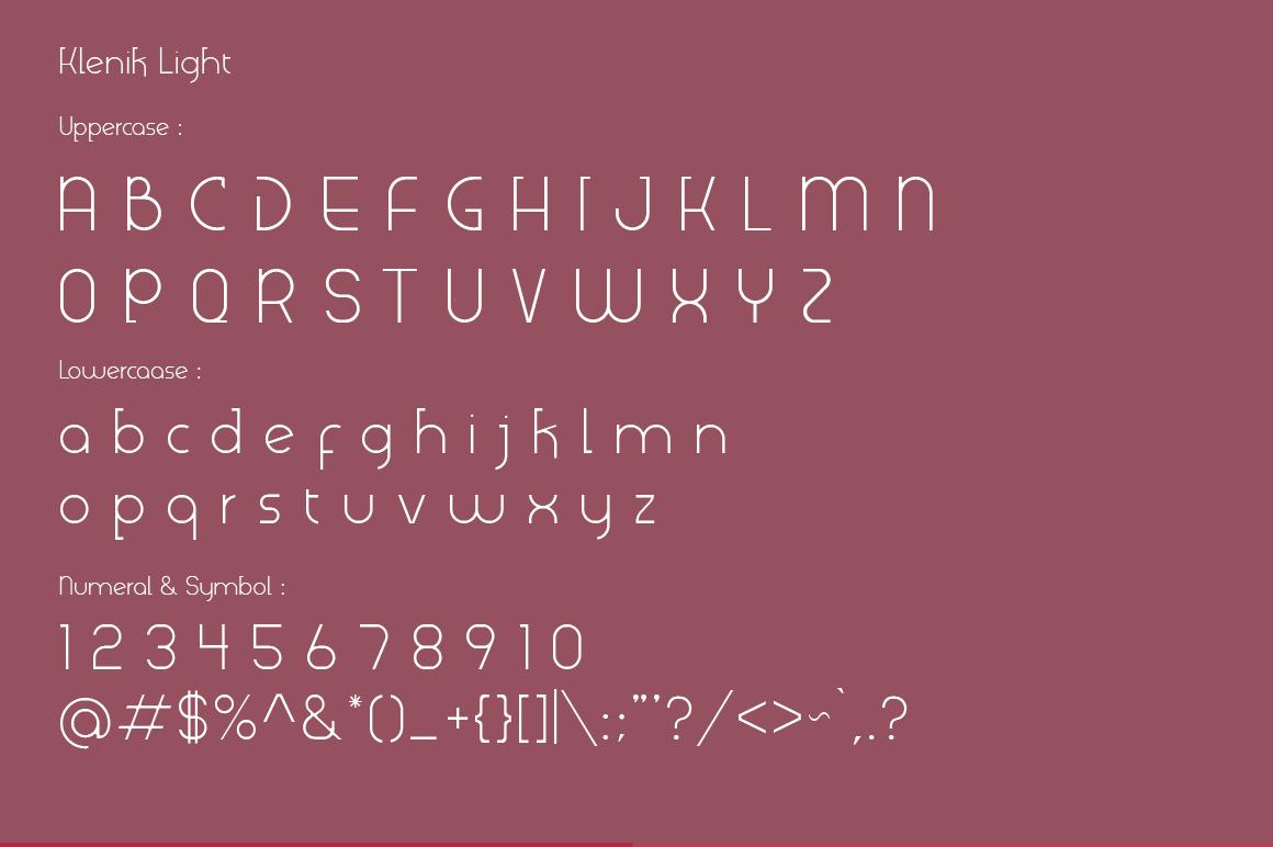 Klenik   a Slab Seriff Font example image 4