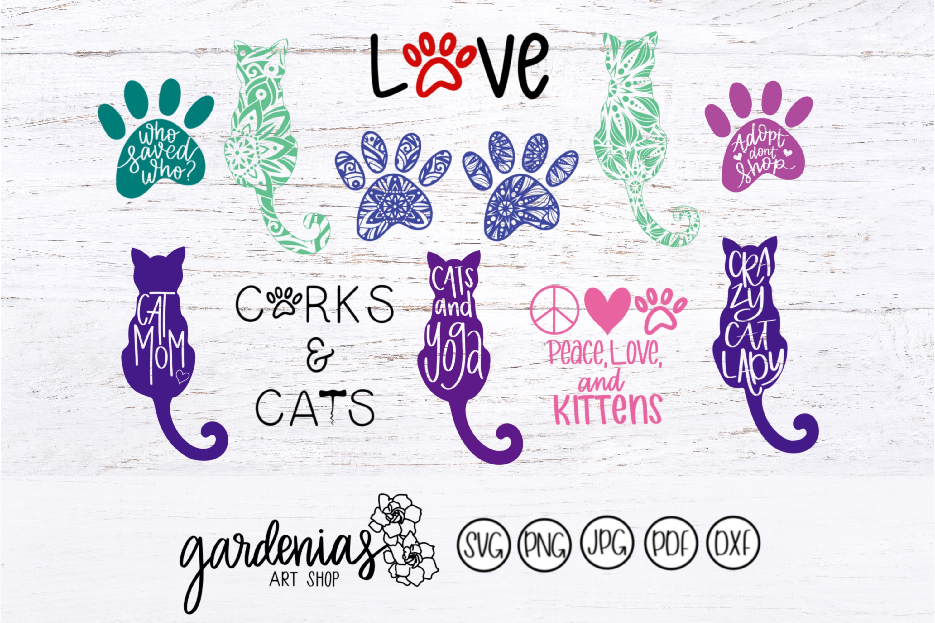 Cat Lovers Bundle example image 1