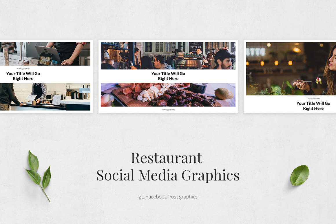 Restaurant Facebook Posts example image 2