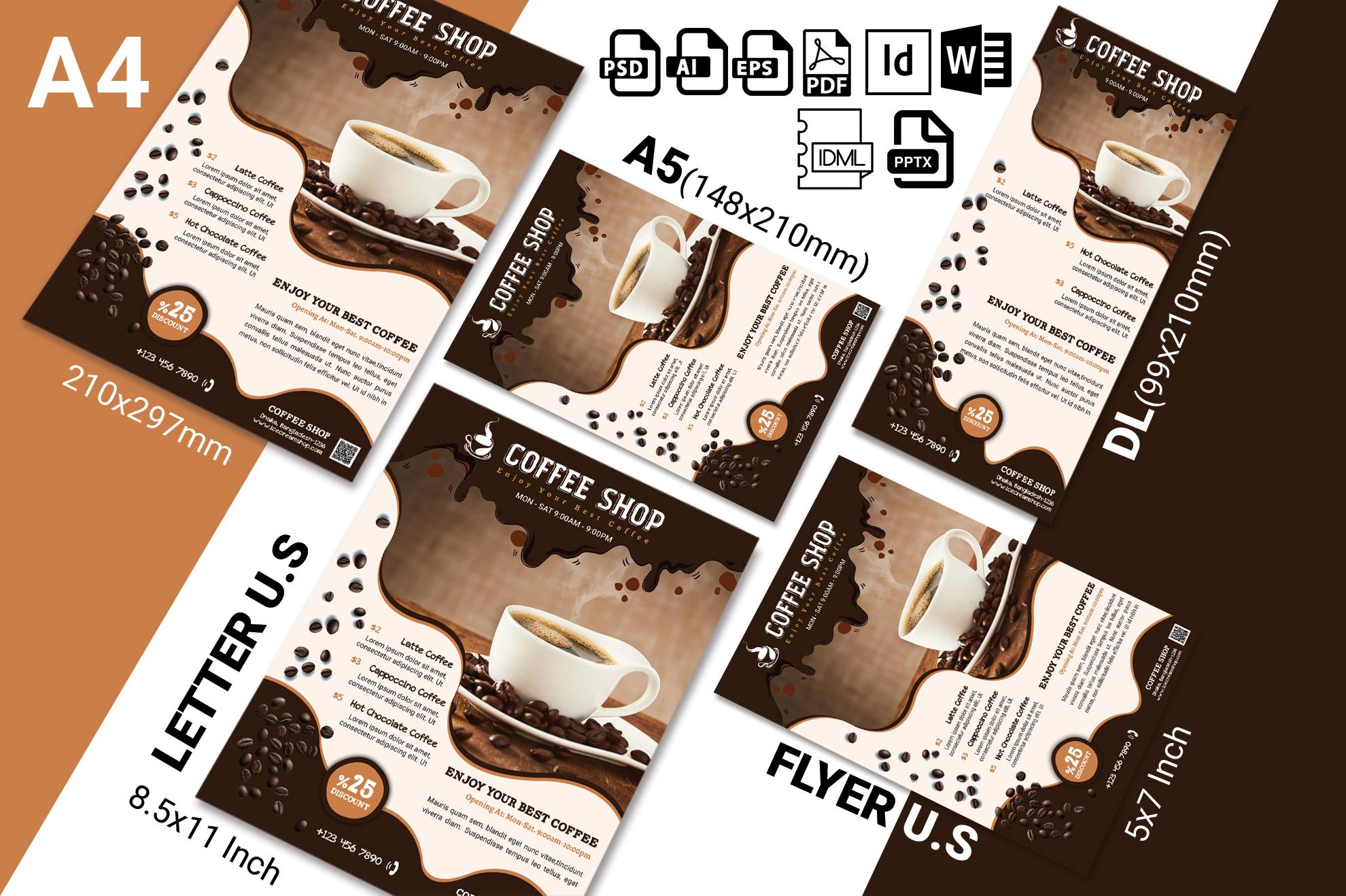 Coffee Shop Flyer Vol-02 example image 2
