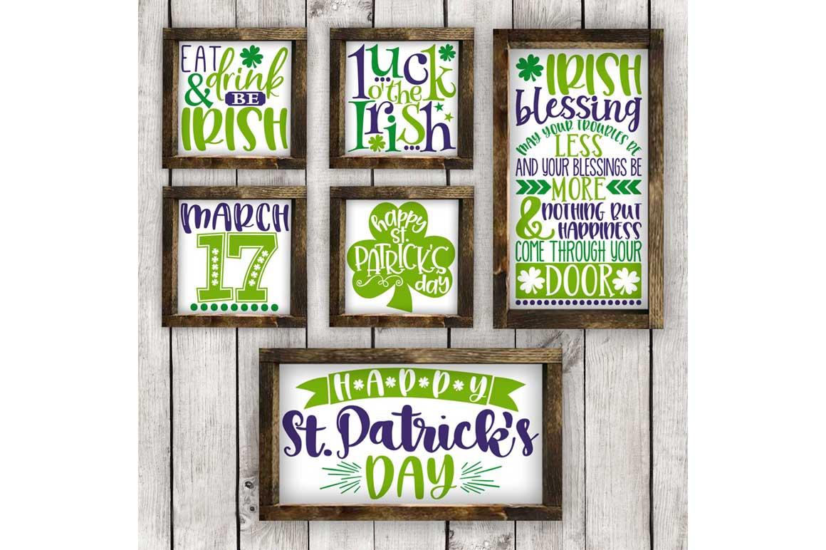 St. Patrick's Day SVG Bundle-cut files for Cricut, Silhouette example image 2