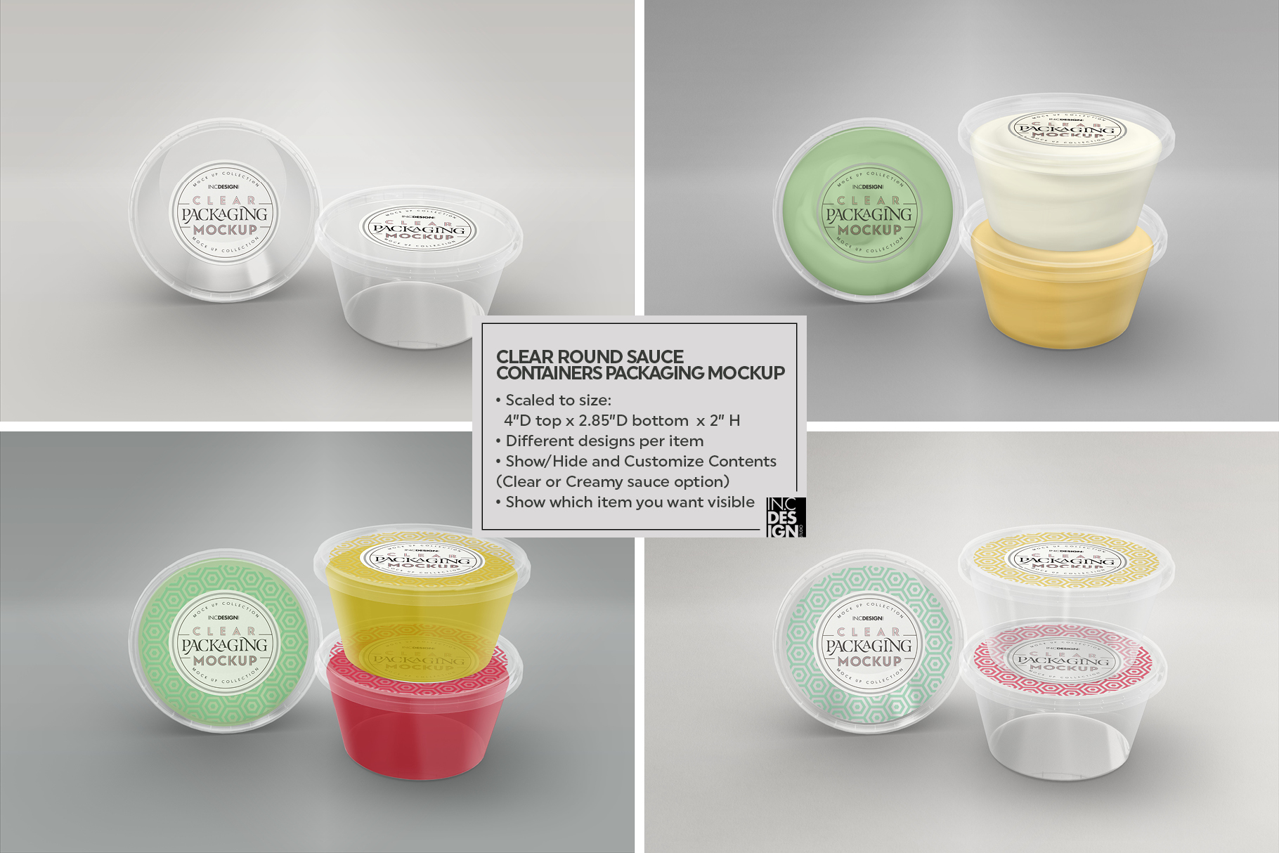 VOL.7 Clear Packaging Mockup Collection example image 5