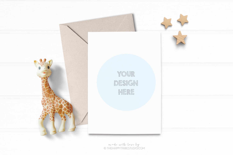 Card Mockup | Invitation Mockup | kids mockup example image 1