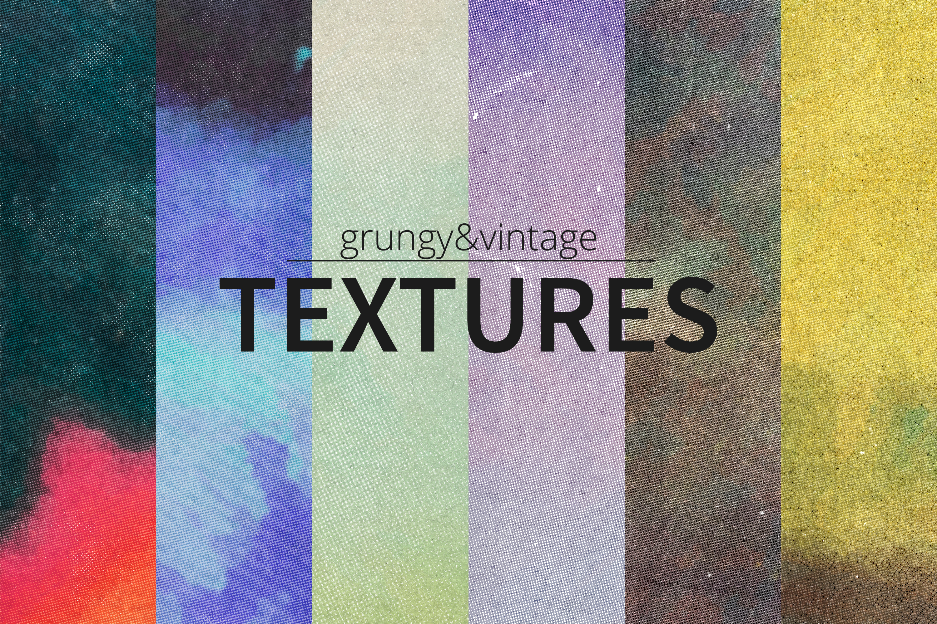 Grungy and Vintage Textures Pack example image 1