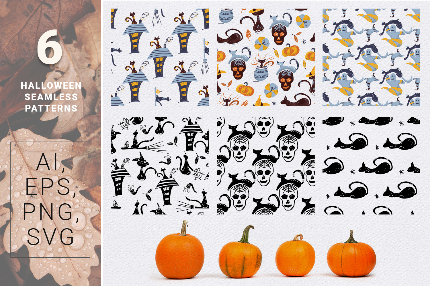 BOO! - Halloween design kit example image 7