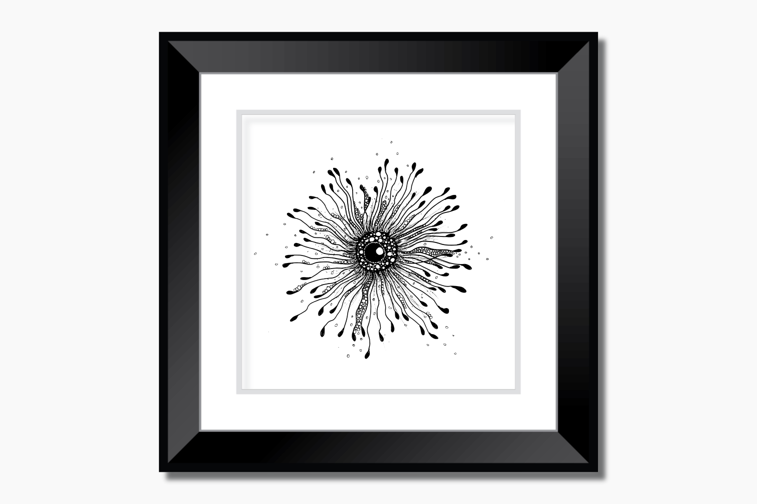 Enigma Ink Art, A1, SVG example image 9