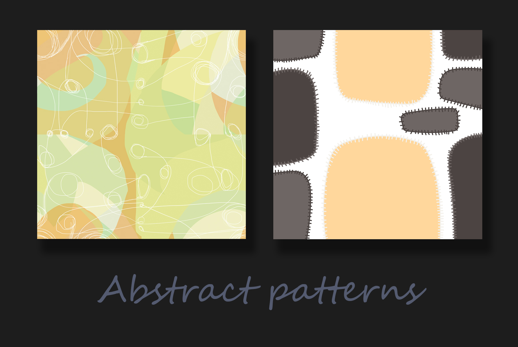 Colorful abstract patterns example image 9