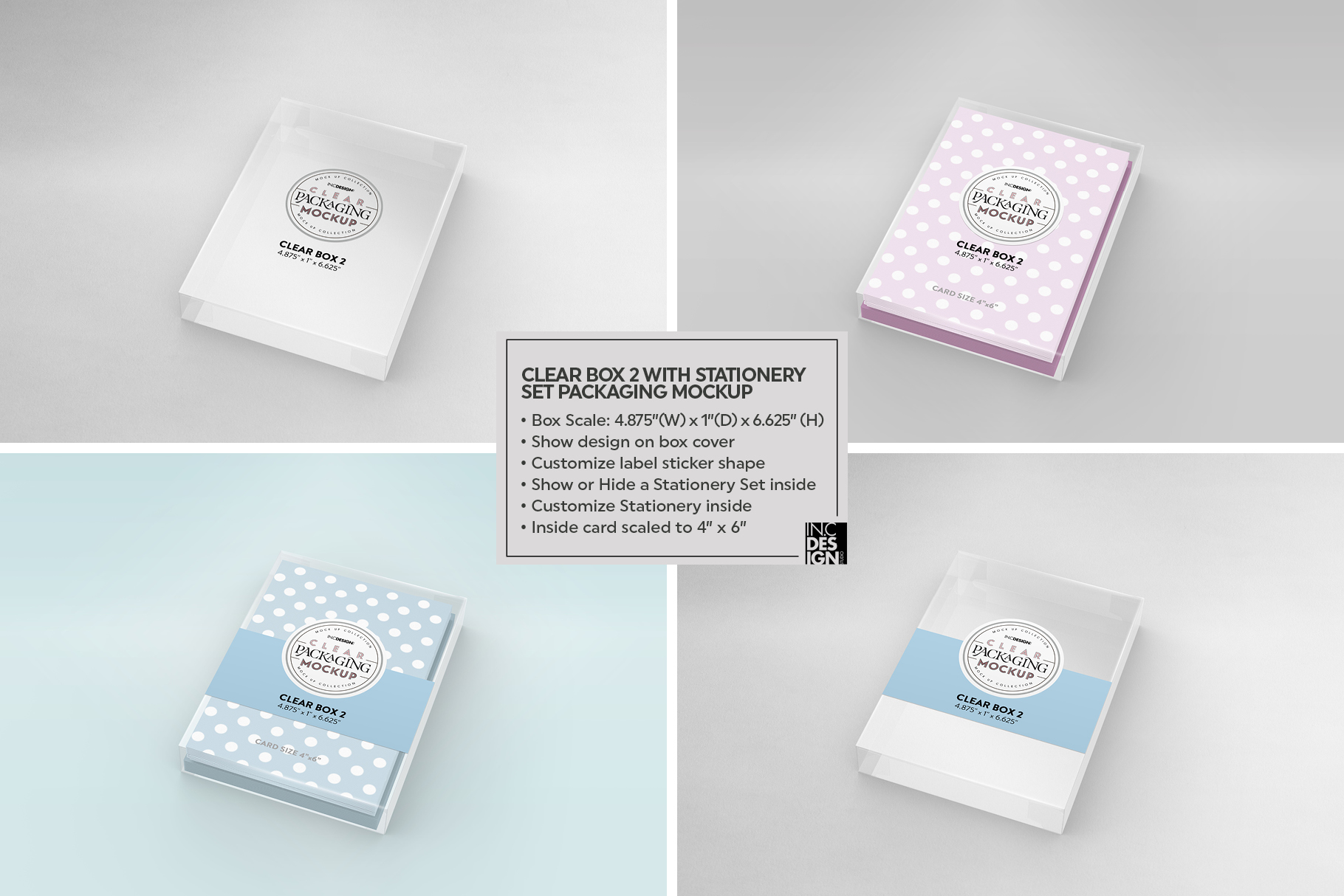 VOL.7 Clear Packaging Mockup Collection example image 17