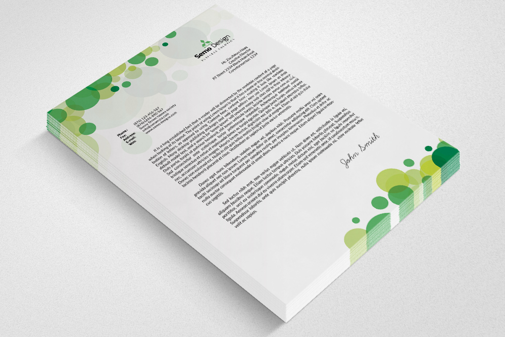 Business Letterheads example image 3