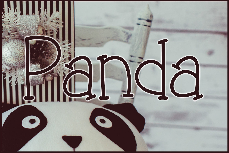 Panda example image 1