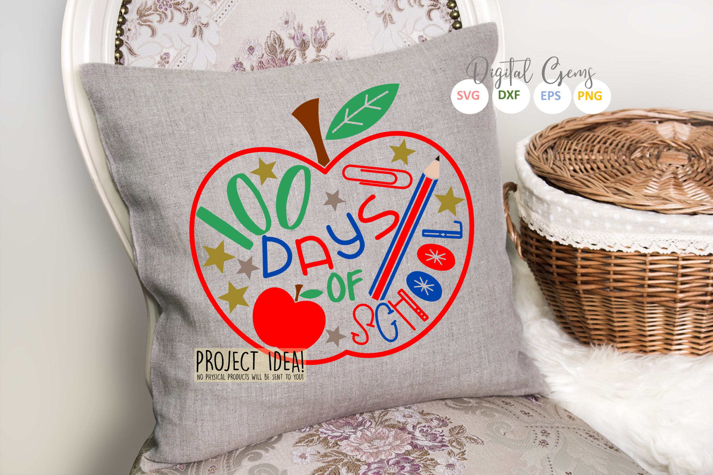 100 days of School design example image 2