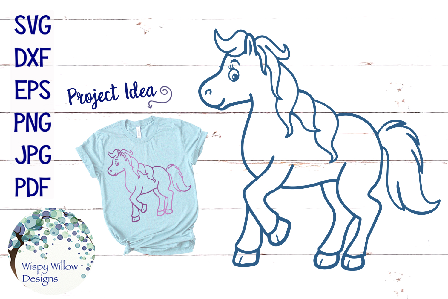 Horse SVG Cut File example image 1