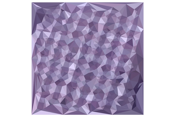 Dark Raspberry Abstract Low Polygon Background example image 1