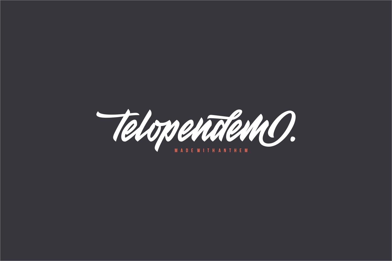 Anthem Typeface example image 2