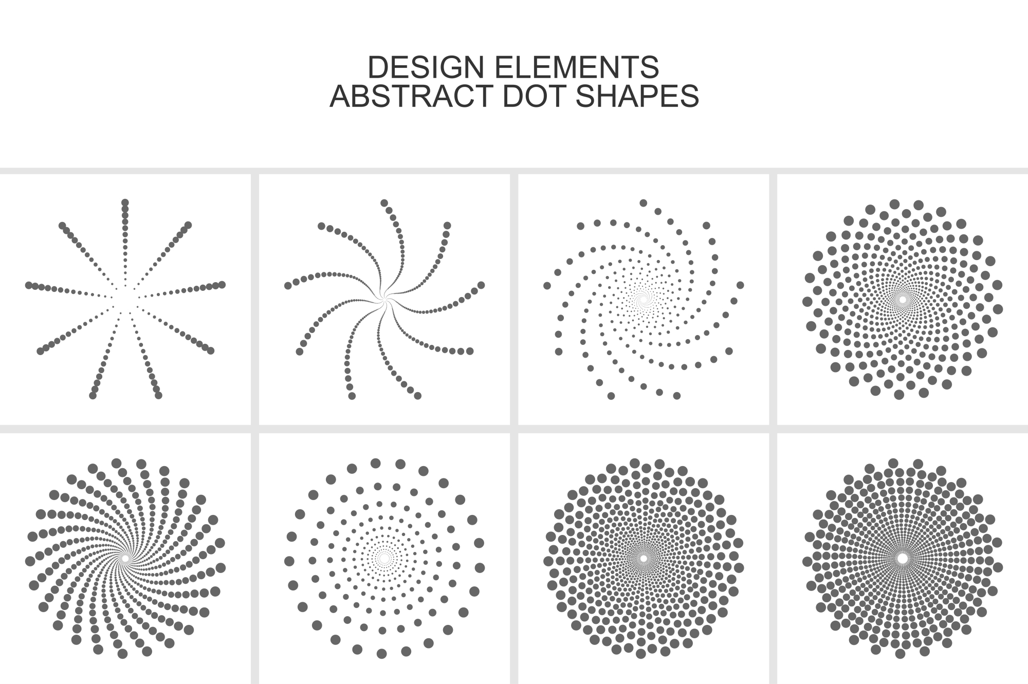 Collection of design elements. example image 3