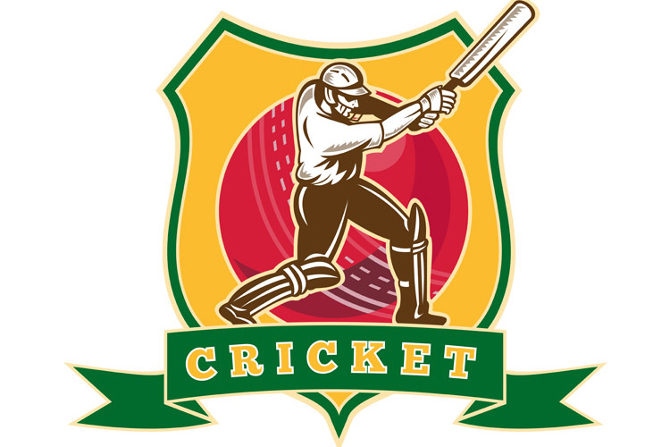 cricket player batsman batting ball shield example image 1