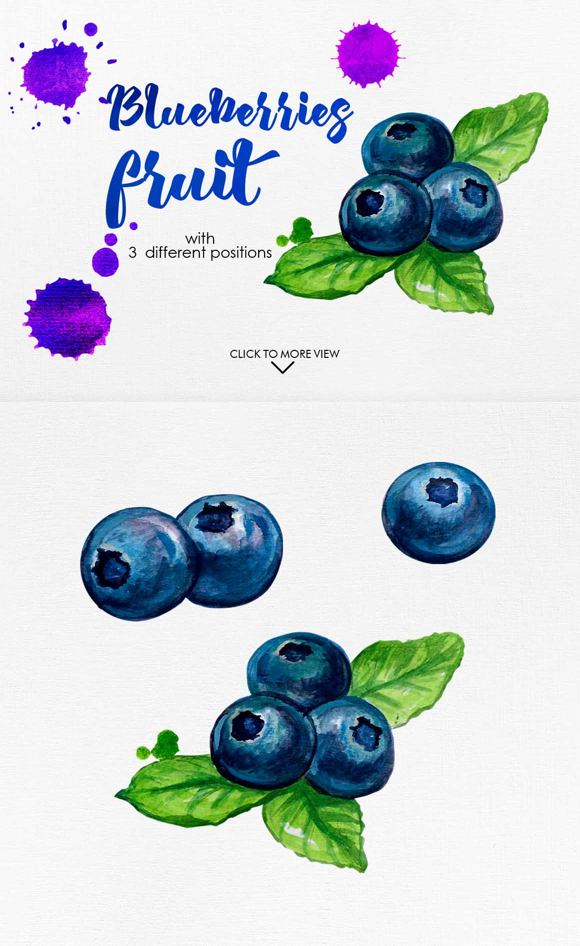 Watercolor Fruits Vol. 3 example image 8