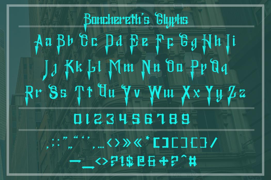 Bonchereth Font example image 9