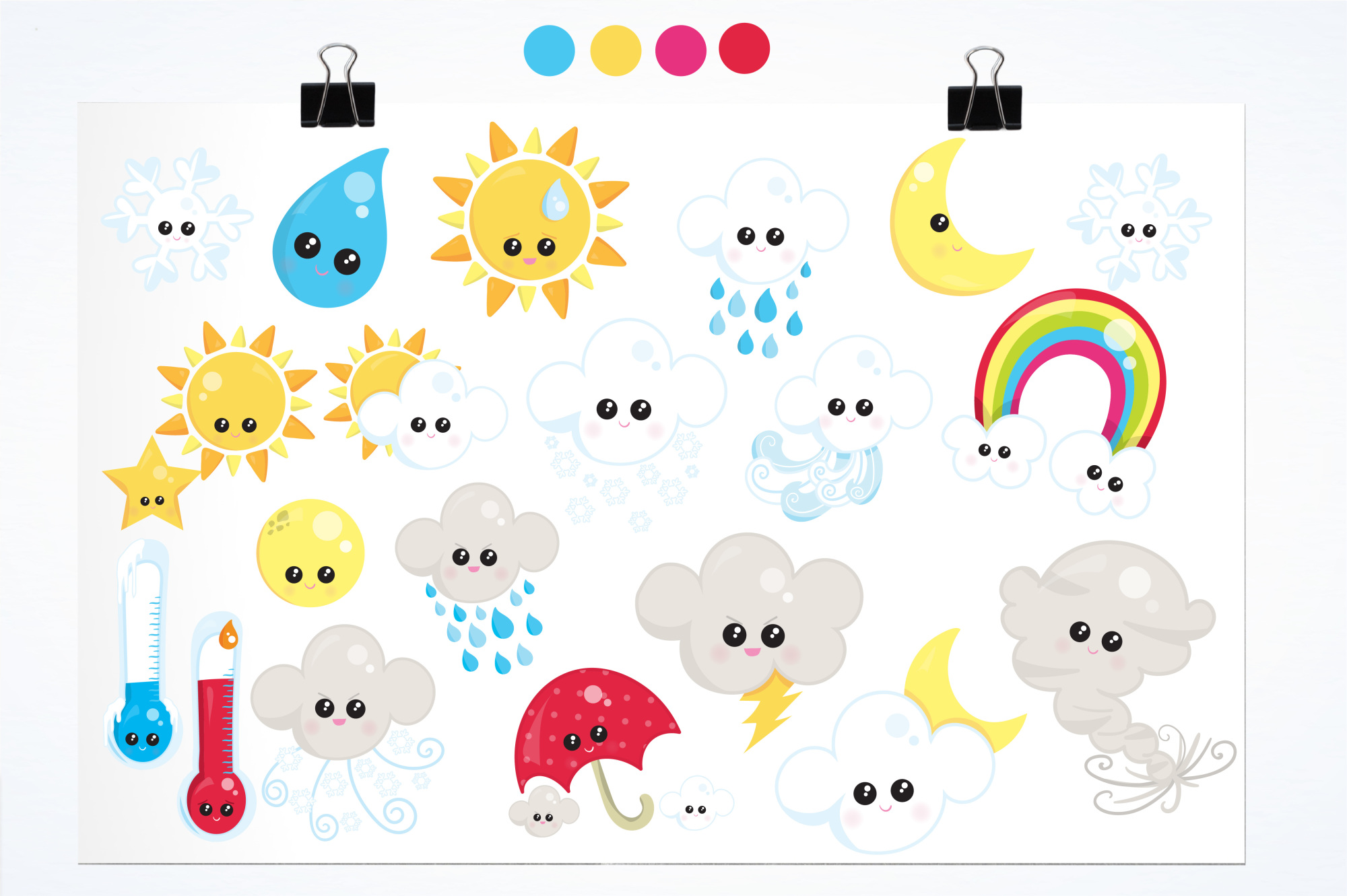 Weather graphics and illustrations example image 2