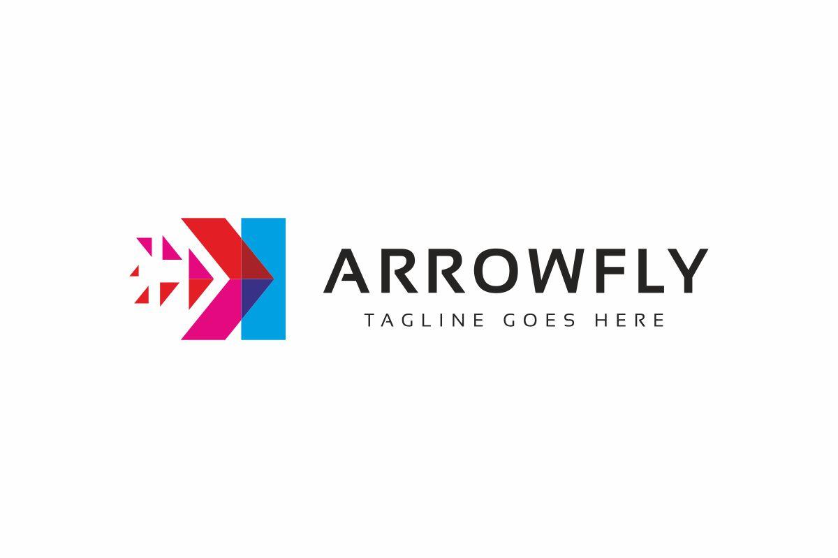 Arrow Fly Logo example image 3