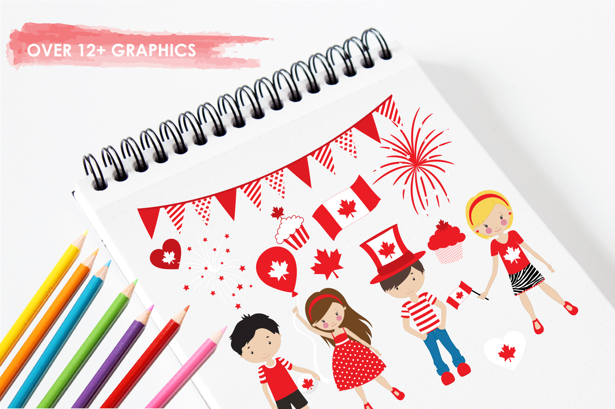 Canada Day graphics and illustrations example image 3