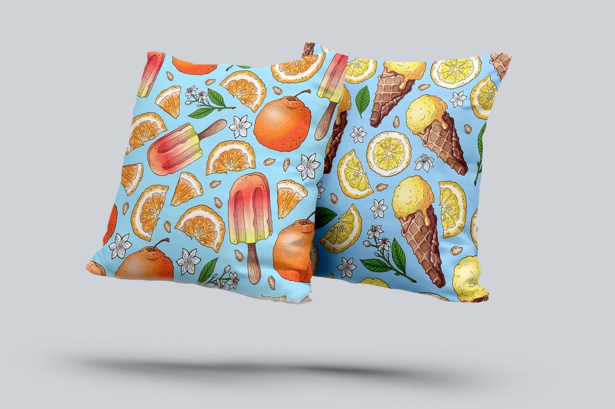 Citrus Sweets vector clip art example image 3