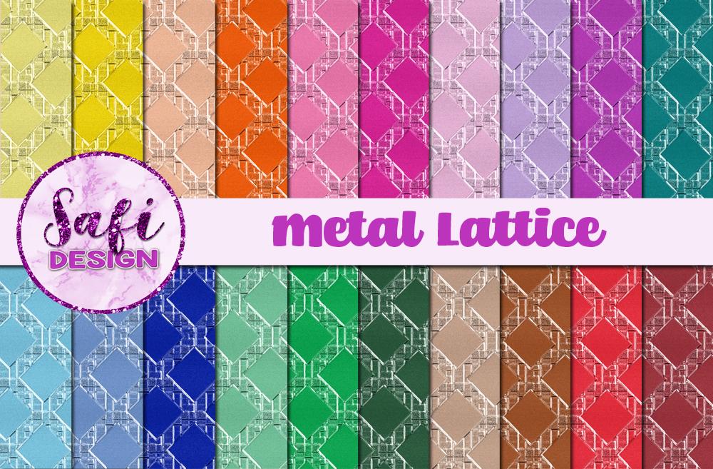 Metal Lattice example image 1