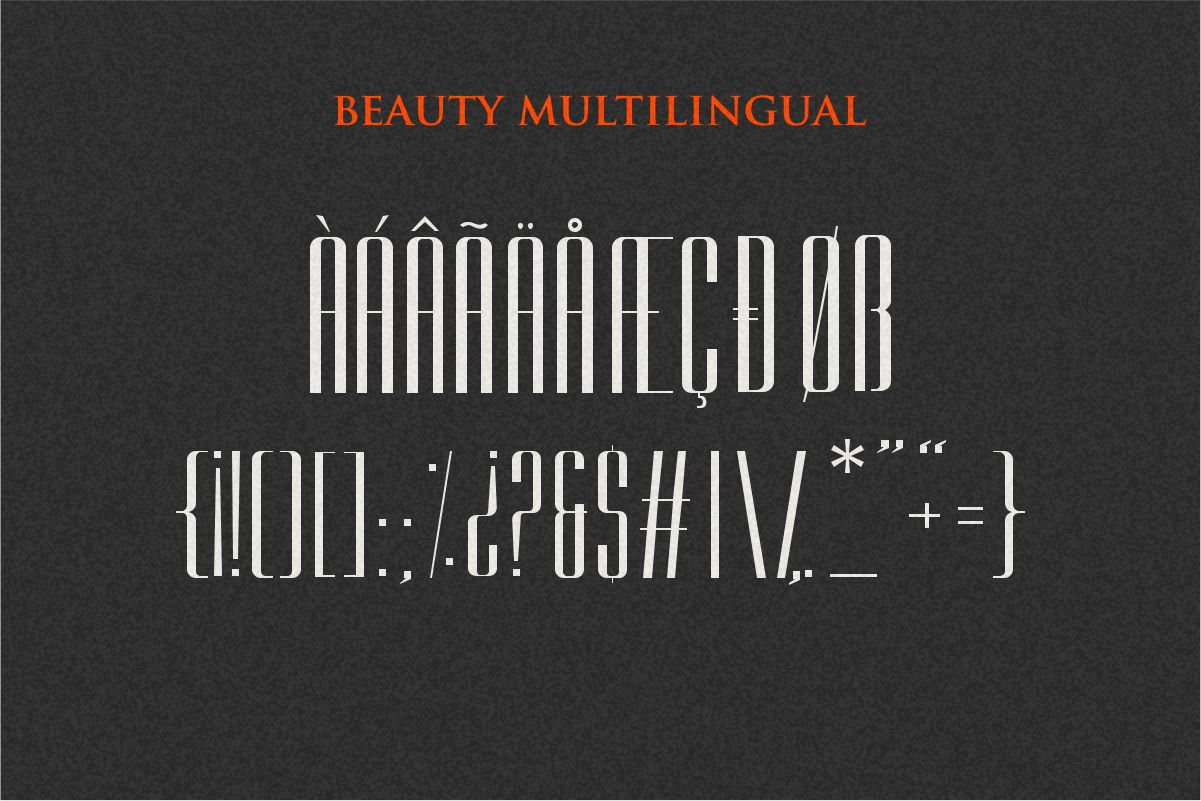 East liberty | Signature & sans serif example image 16