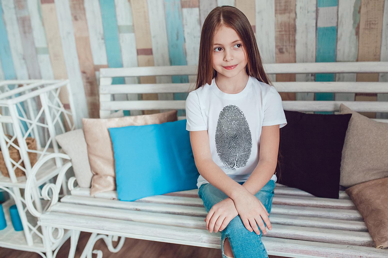 Kids T-Shirt Mock-Up Vol.1 2017 example image 3