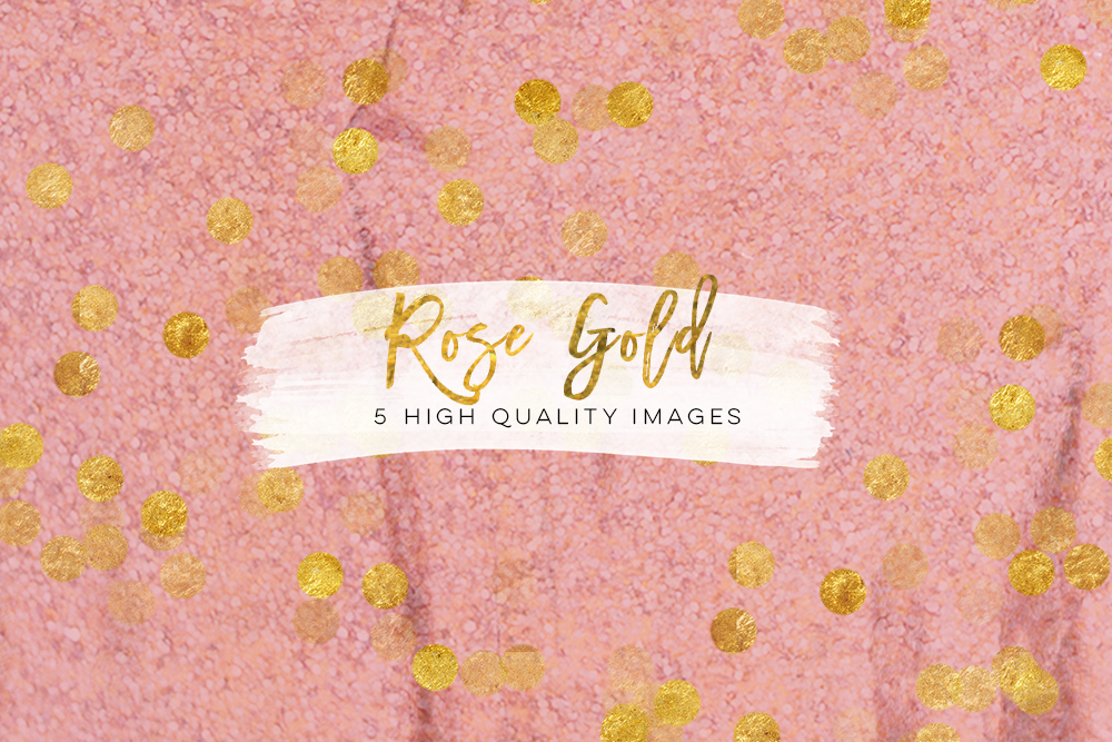 pink peach rose gold digital download texture, graphic design paper, rose gold texture paper, rose paper, pink floral confetti glitter art example image 1