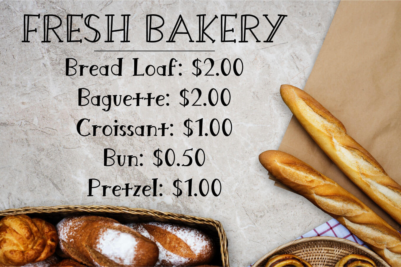 Bread King Font example image 4