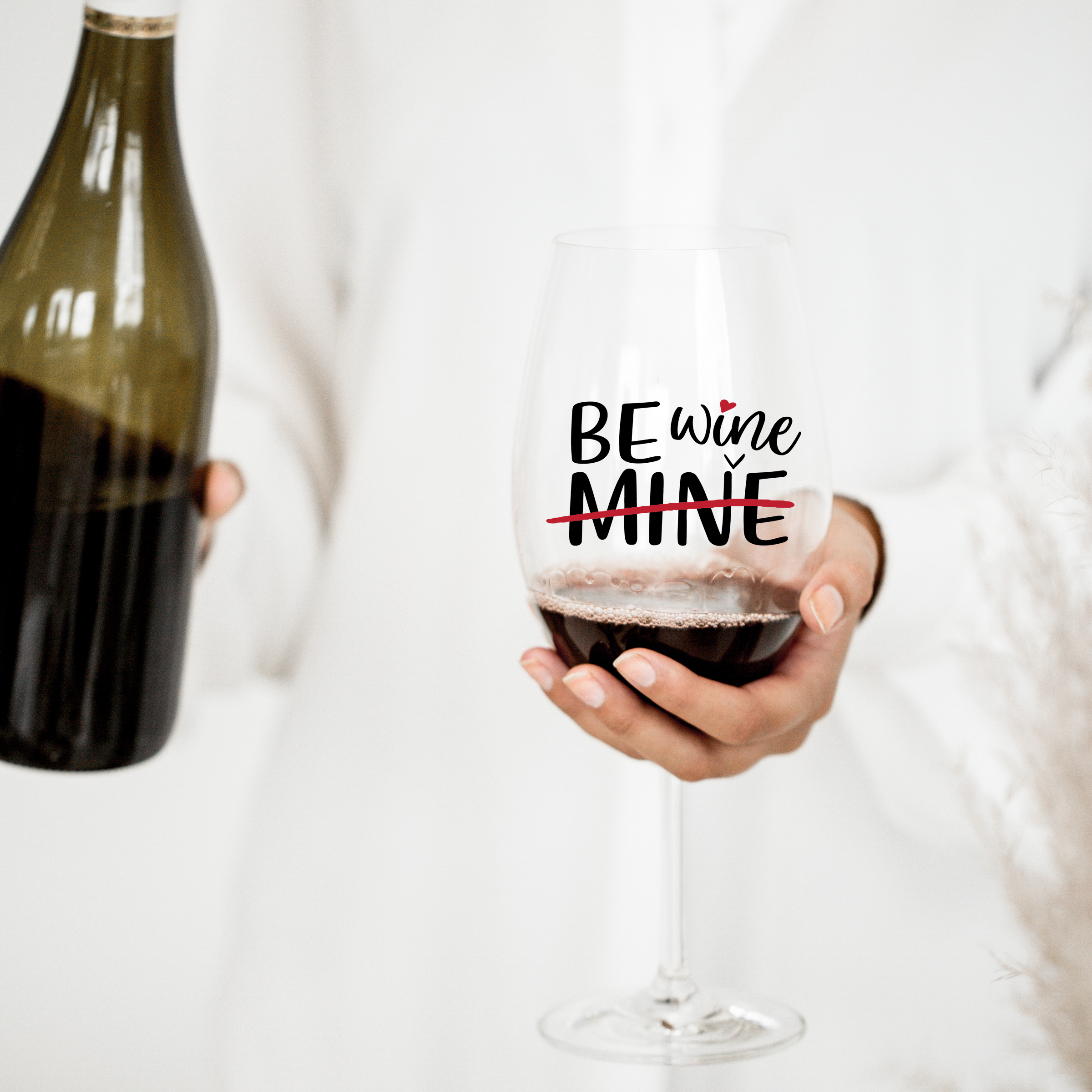 Funny Valentine's Day SVG - Be Mine example image 2