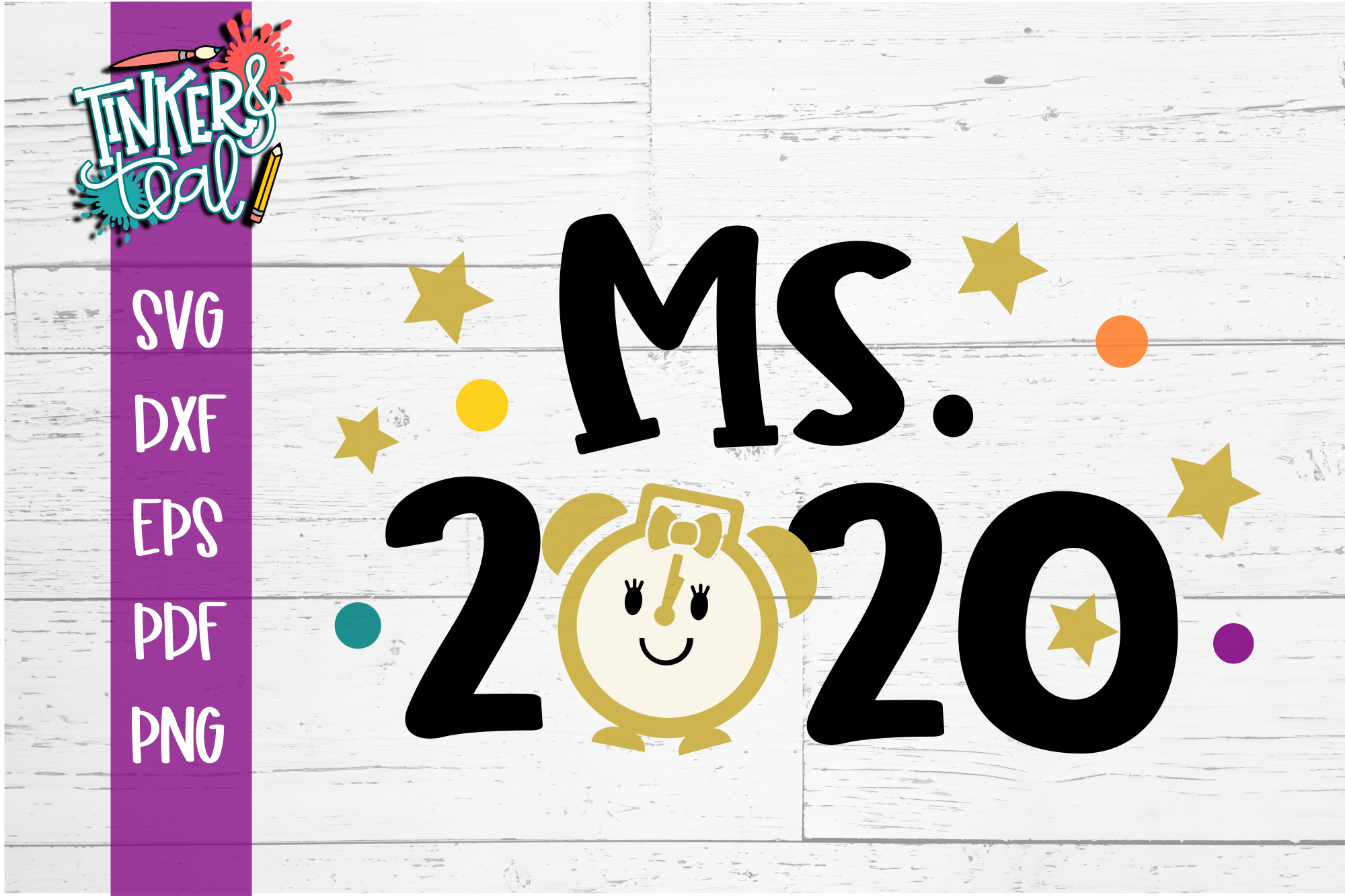 Ms 2020 New Years SVG example image 2