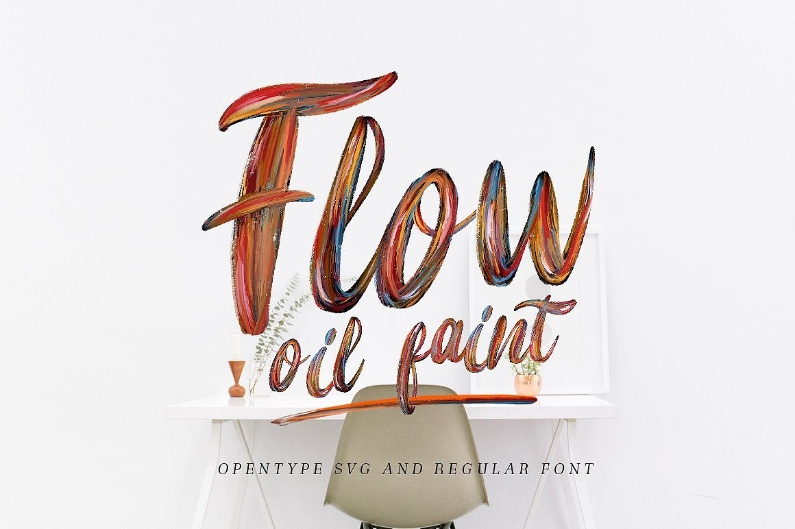10 Font Script Collection + doodlee art example image 21