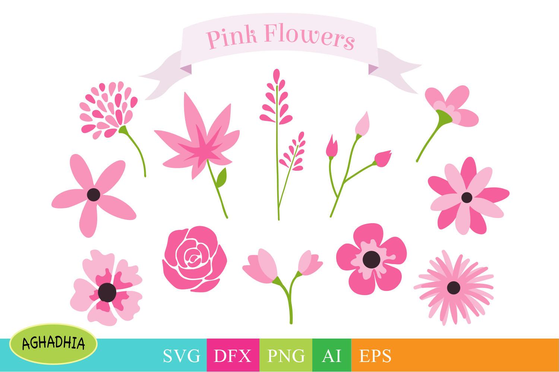 Download Flowers SVG, Flower Bundle, Floral Element SVG.