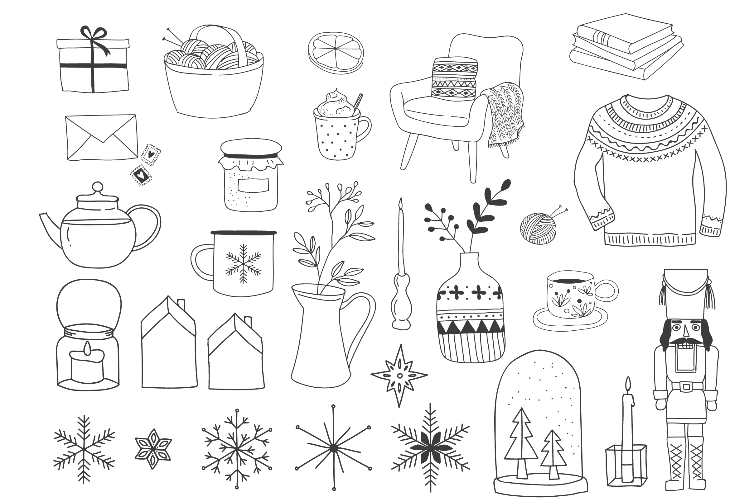 Nordic Christmas - winter collection example image 7