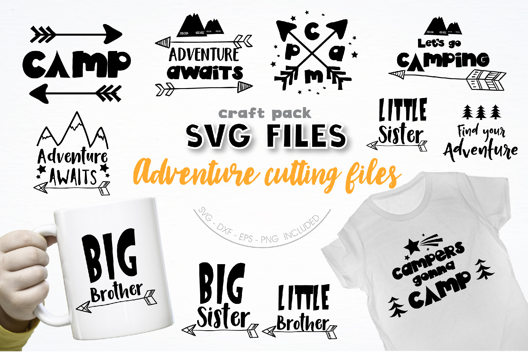 The AMAZING CRAFT BUNDLE, 1500 in 1, cutting file svg, dxf, example image 9