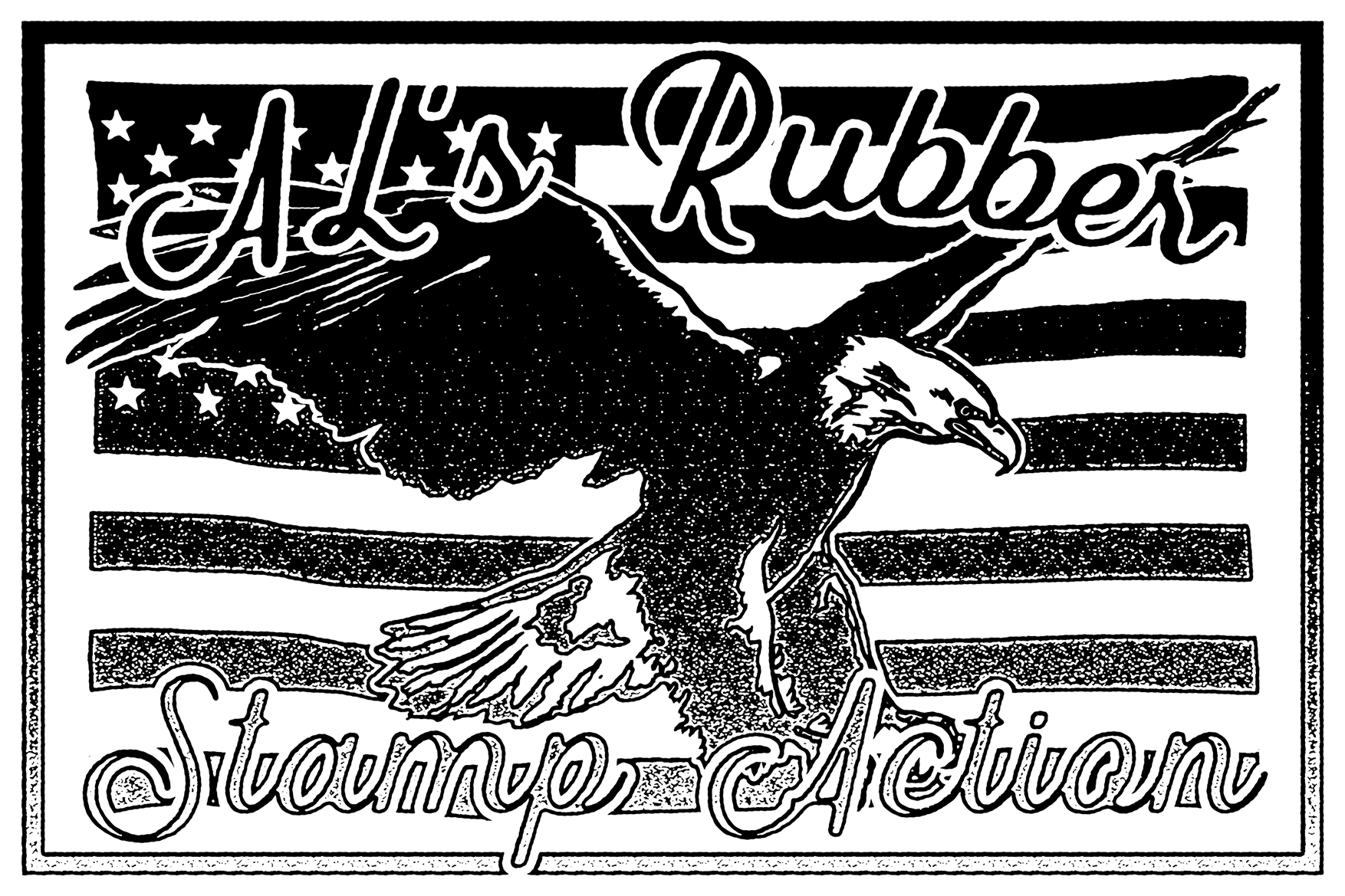 AL's Rubber Stamp Action Kit example image 3