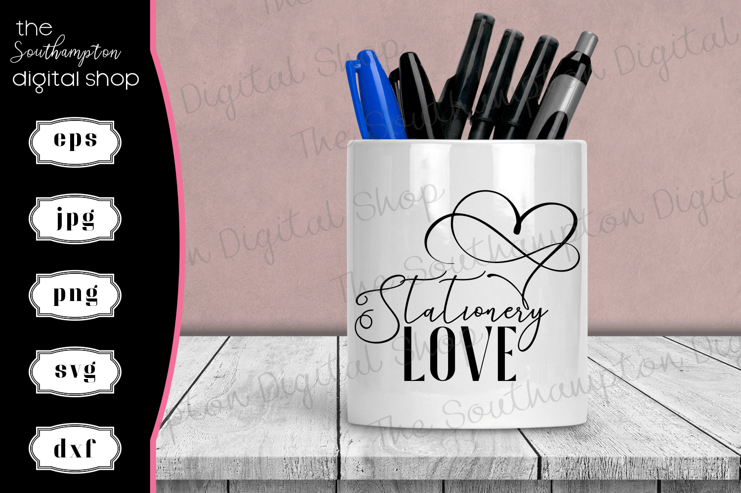 Stationery Love Quote example image 1