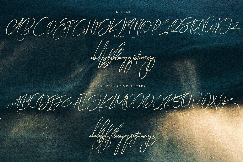 Angelic Brush & SVG Font example image 9