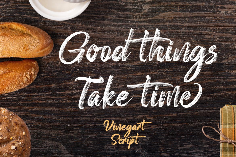 Vinegart - Handwritten Font example image 5