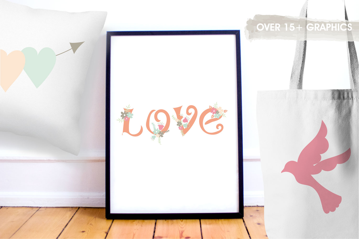 Love Cute Graphics example image 5