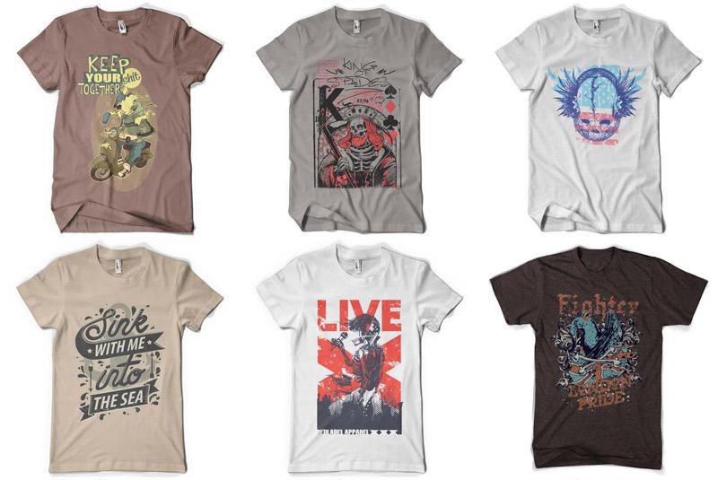 100 Premium T-shirt Designs example image 9