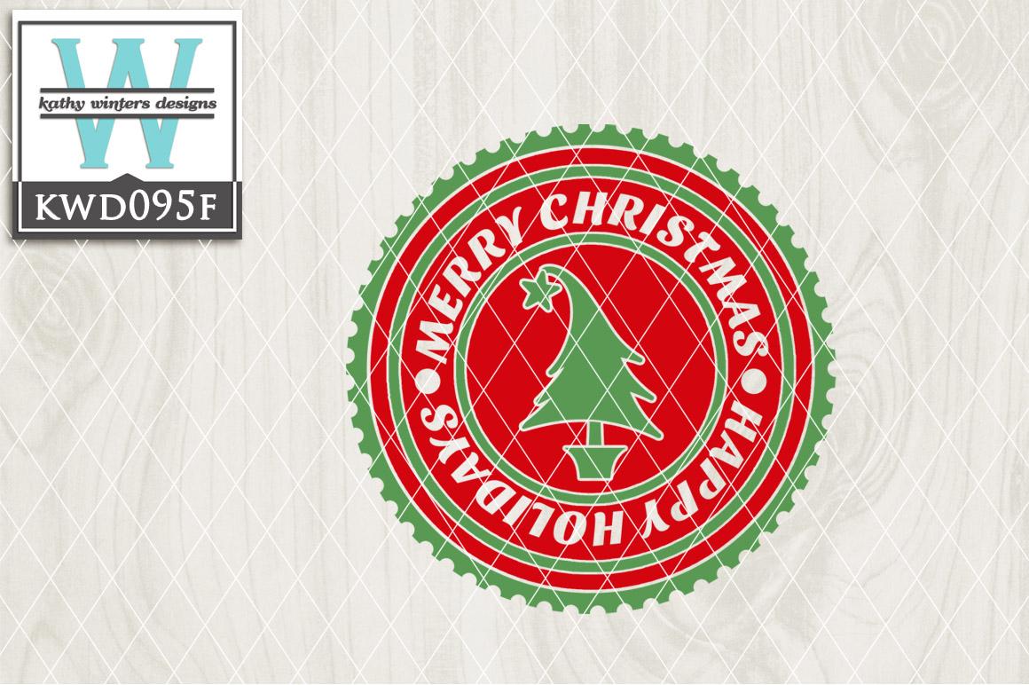 Christmas Cutting File KWD095F example image 1