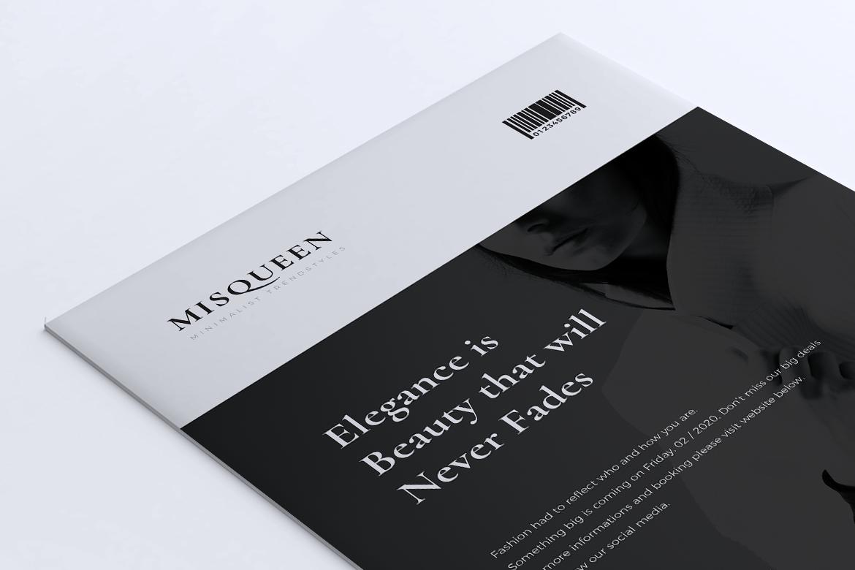 MISQUEEN Minimalist Flyer example image 6