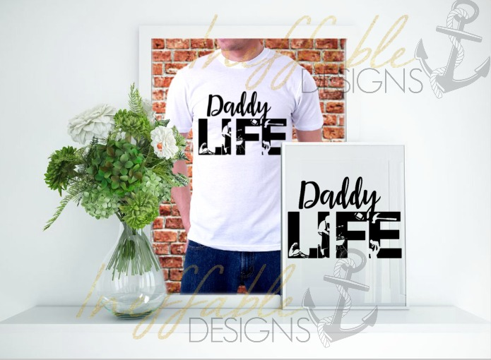 Daddy Life Cut File svg example image 1