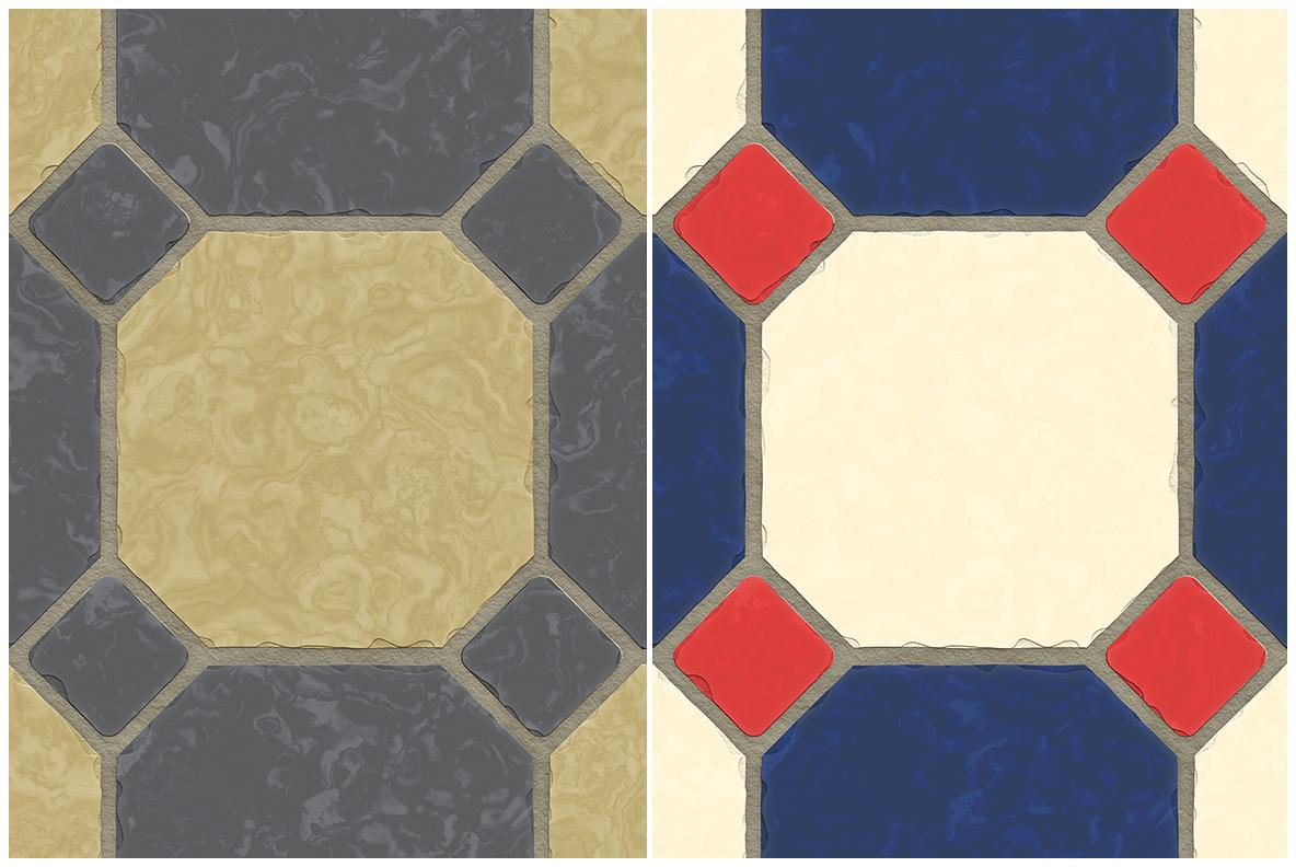 10 Classic Floor Tile Textures example image 4