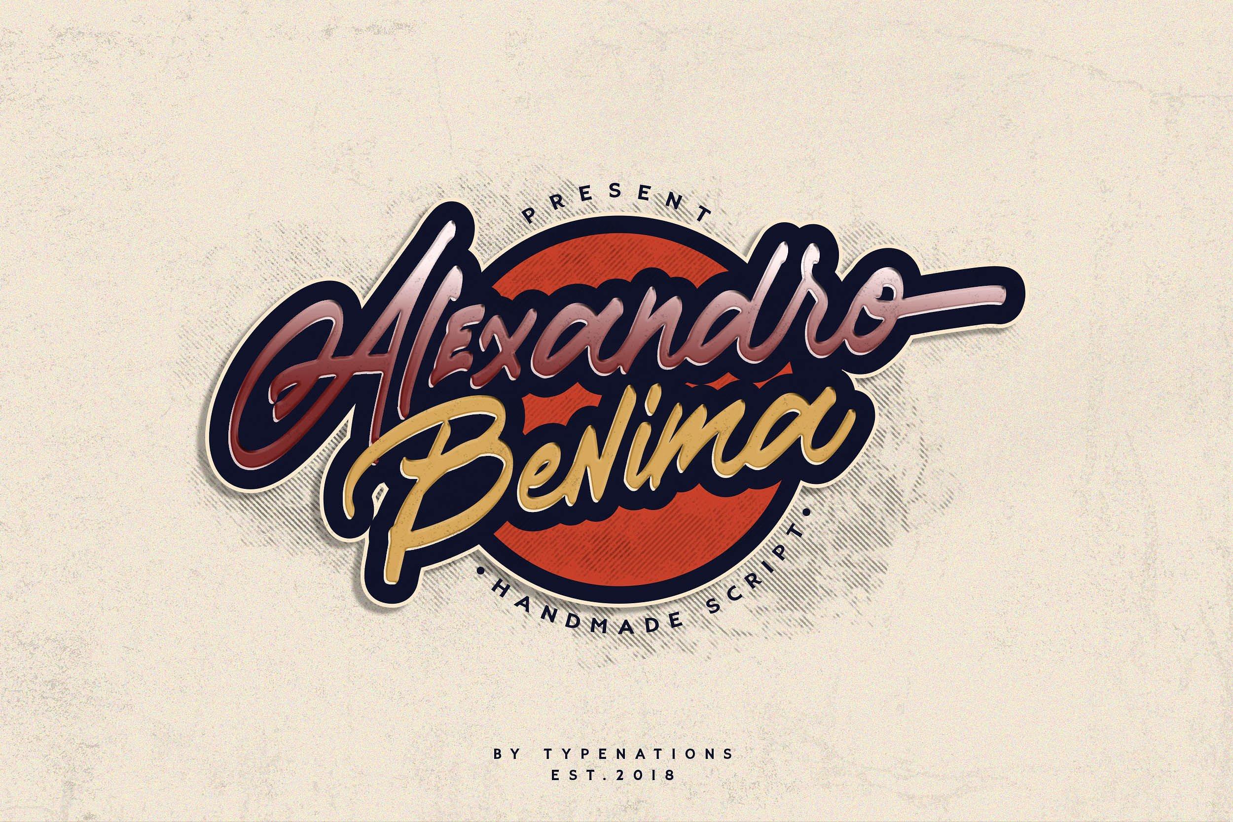 Alexandro Benima example image 1