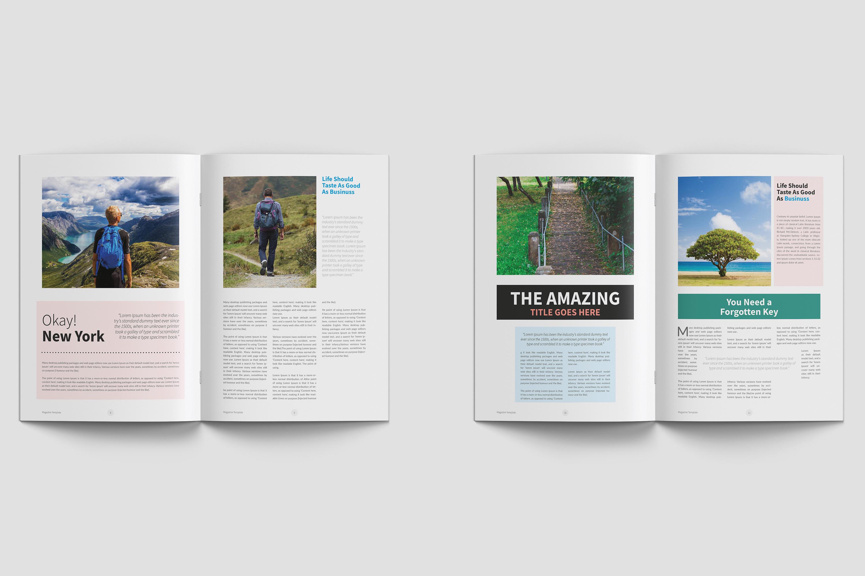 Modern Multipurpose Magazine Layout example image 4